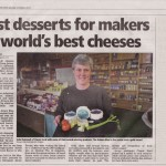 Gold award for Jersey cheese from classic farm