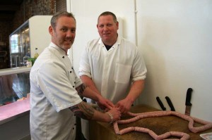 mark Jordan at Classic farm for butchers week 2014